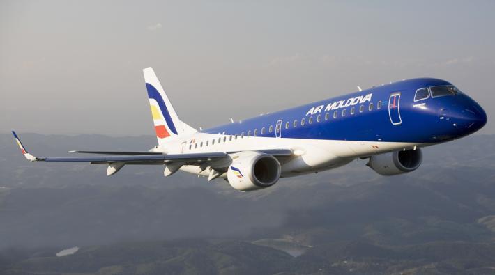 Air Moldova E190 Vliegtuig Volgen