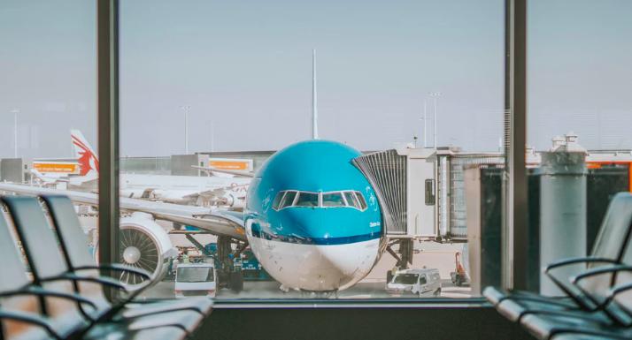 Vliegtuig volgen